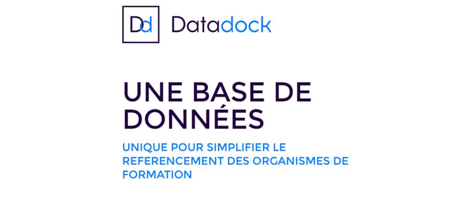 datadock : une base de données pour la formation